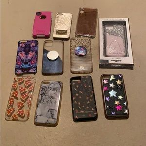 Accessories - Bundle of designer misc iphone cases